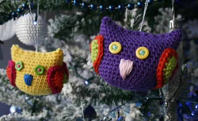 Christmas owl decoration 6