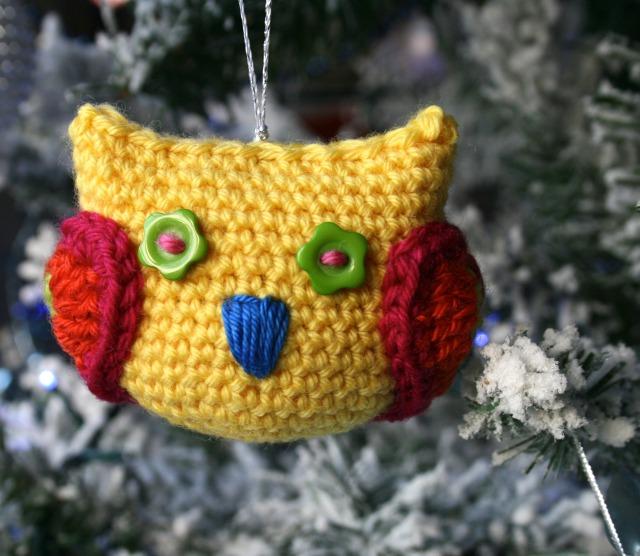 Christmas owl decoration 7