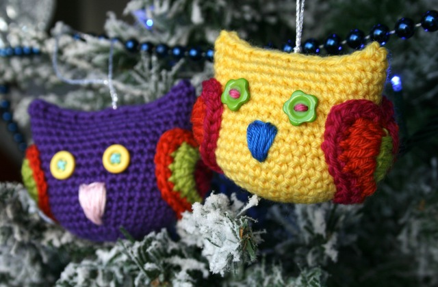 Christmas owl decoration 8
