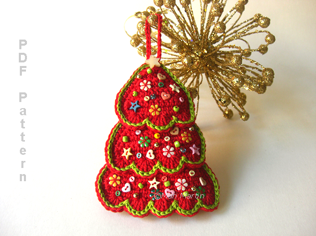 crochet christmas tree 3412 a