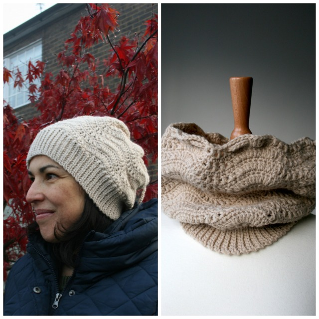 Slouchy hat:cowl