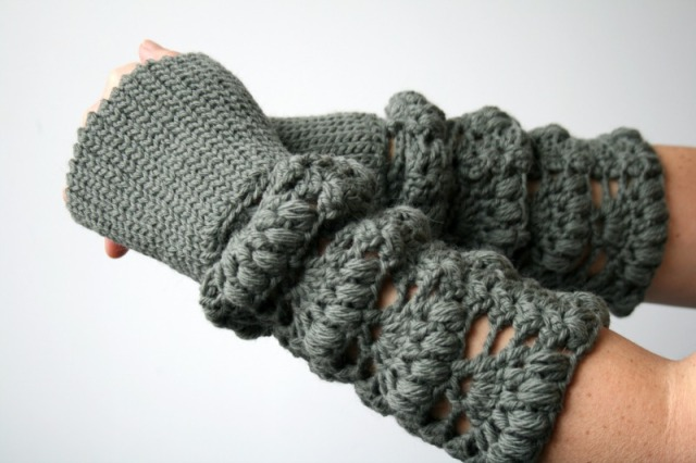 Luz Patternsdotcom Lace arm warmer 163 3