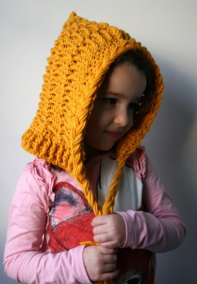 Luz Patternsdotcom Textured tassel hood hat 164 5