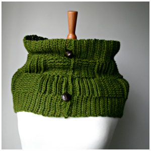 LuzPatterns.com green snood