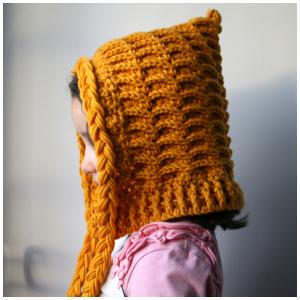 LuzPatterns.com Hooded hat