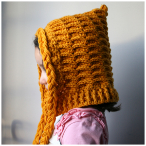 LuzPatterns.com Hooded hat