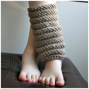 LuzPatterns.com Leg warmer