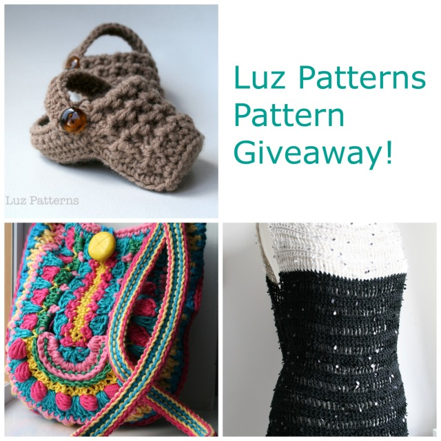 LuzPatterns.com Pattern Giveaway collage