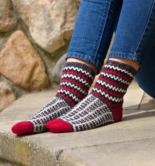 More Crocheted Socks - 16 All-New Designs