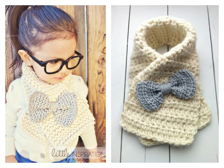Crochet Pattern Baby Scarf : Back to school crochet, sewing and knitting inspiration ...