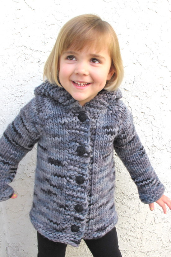 knitting pure and simple kids knitted cardigan bloged LuzPatterns.com