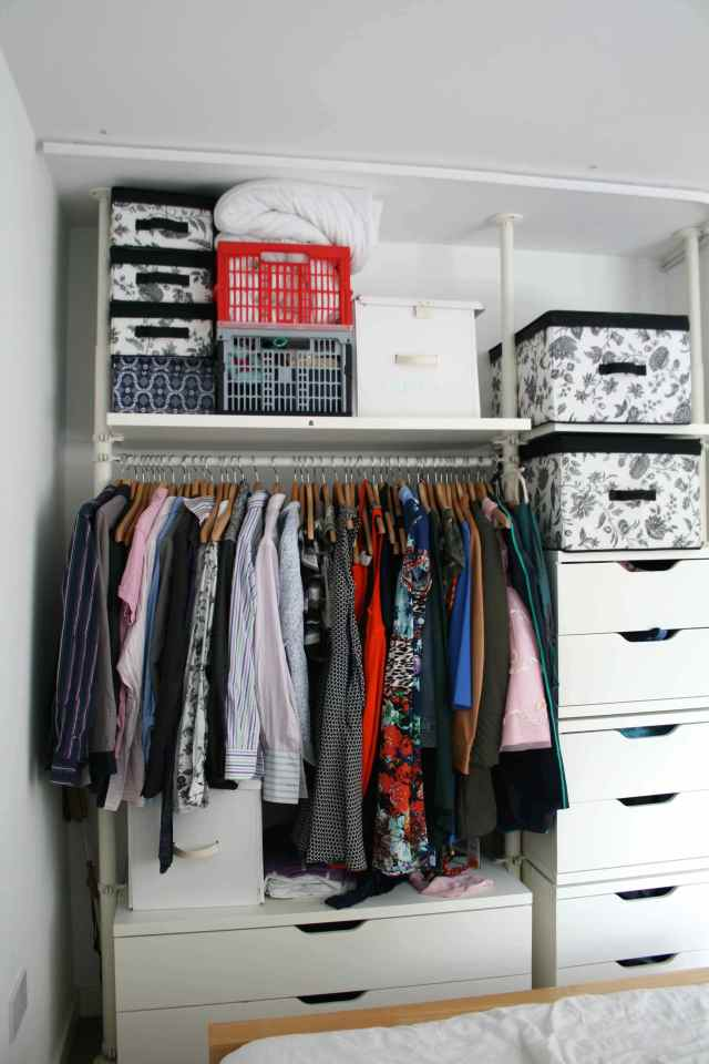 LuzPatterns.com wardrobe before and after 2