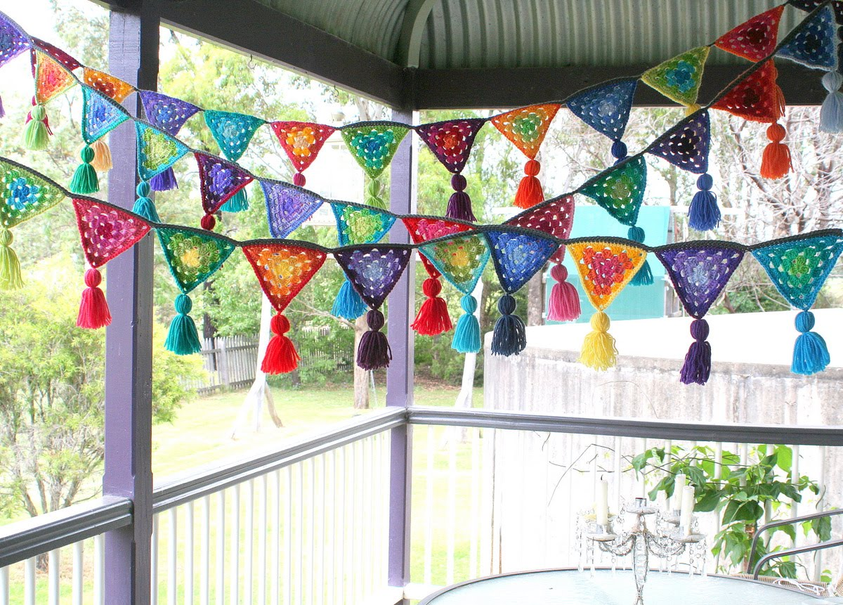 4th Of July Best Crochet Bunting Luz Patterns