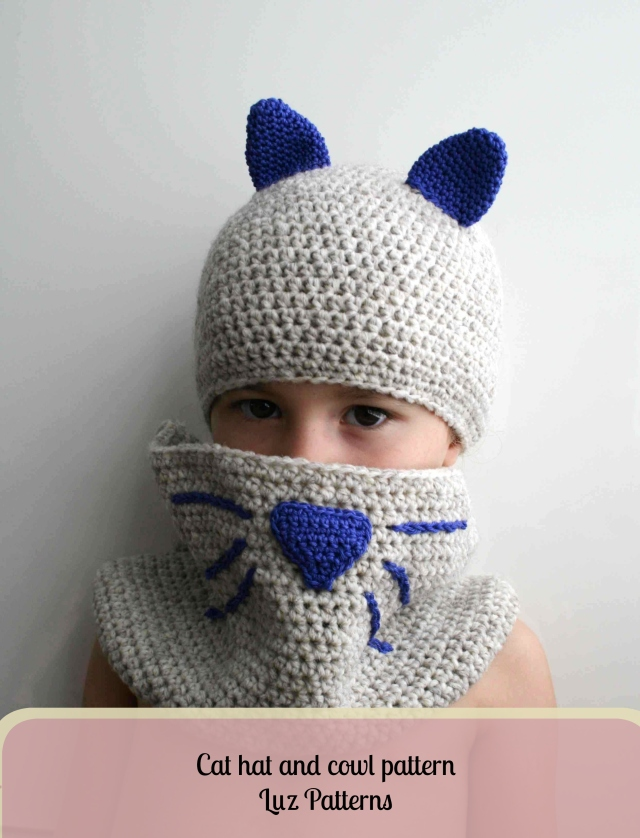 Cat hat and cowl 180 1