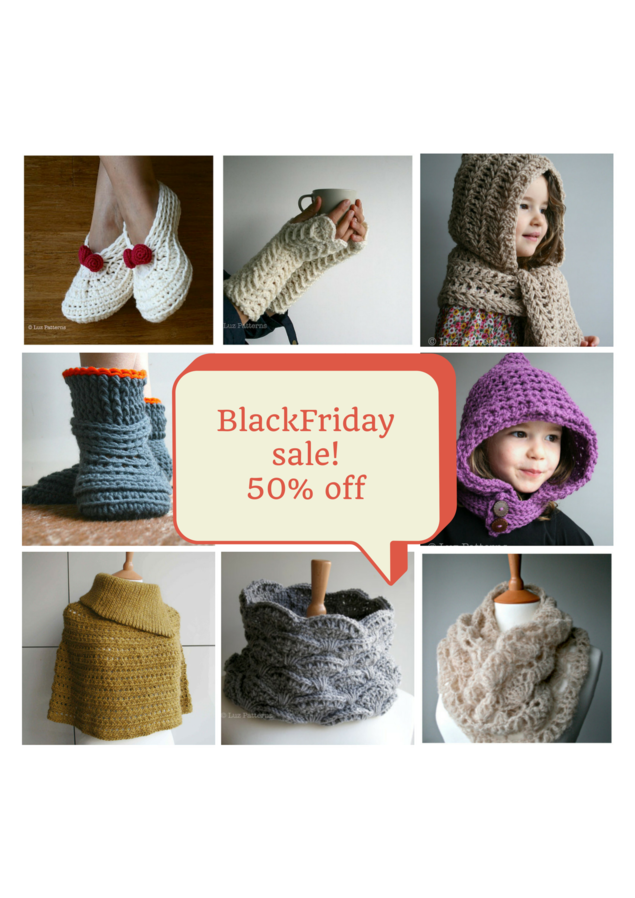 LuzPatterns.com BlackFriday sale 50%