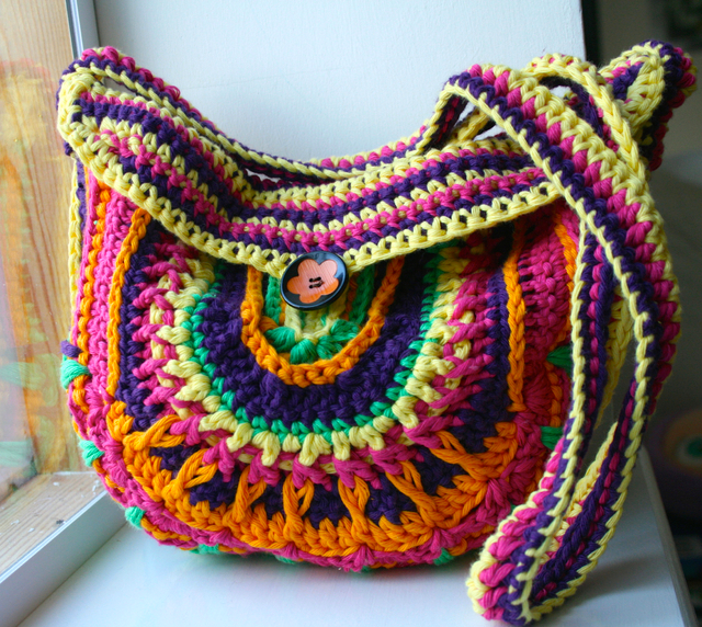 Boho Crochet Patterns : boho crochet purse pattern? and a new collection of bags patterns ...