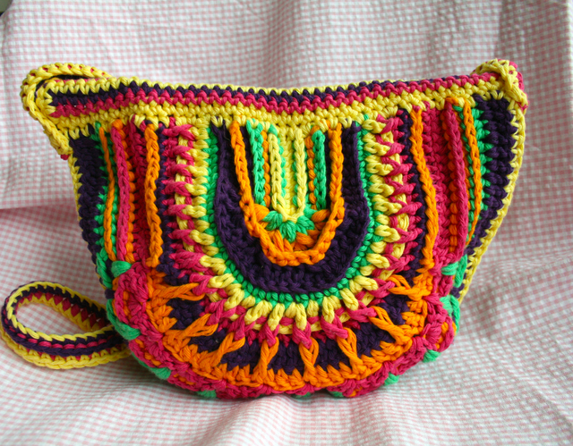 New Crochet Bags : New boho crochet purse pattern? and a new collection of bags ...