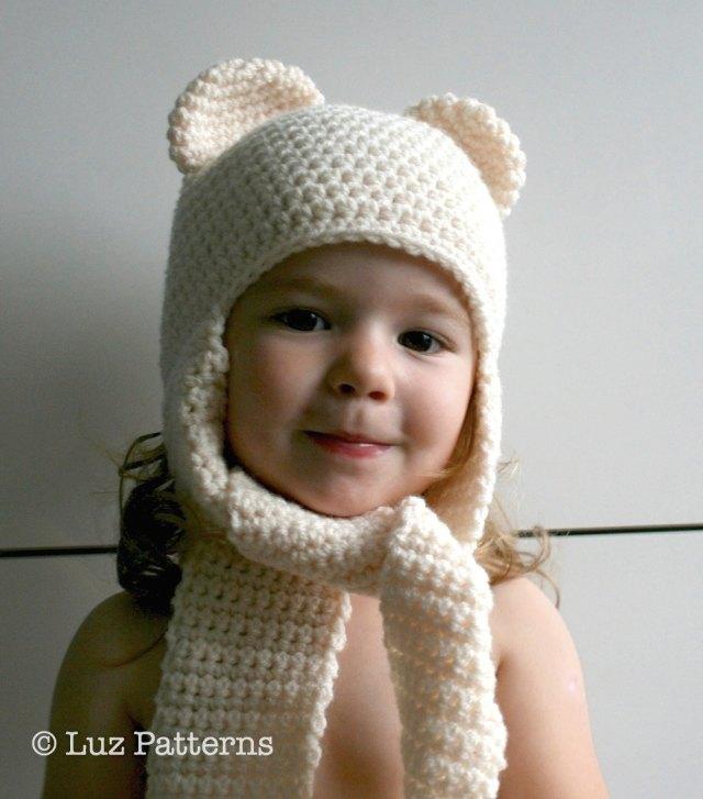 LuzPatterns.com bear hat 82