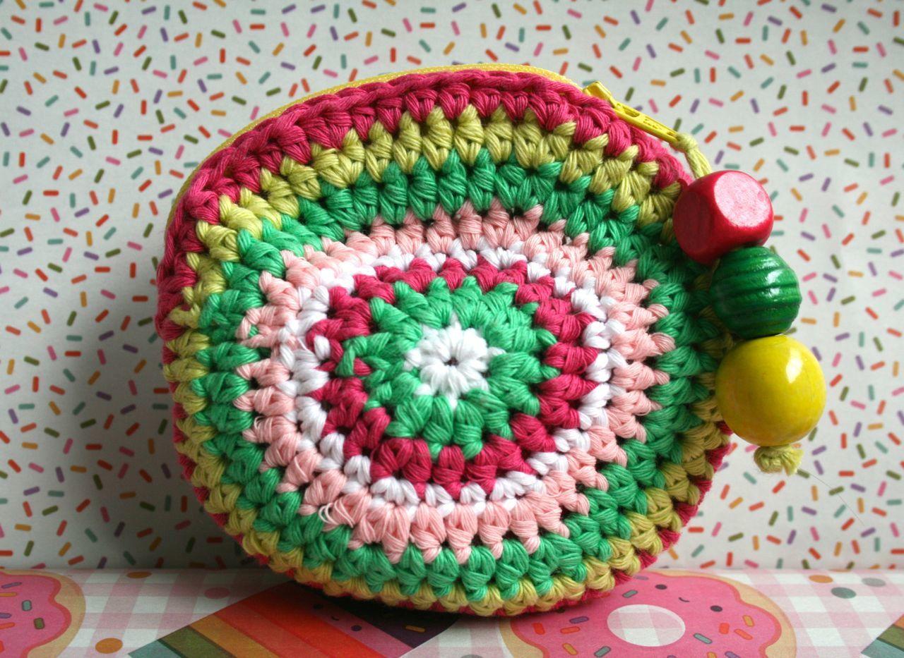 Diy free pattern little crochet coin purse photo tutorial luzpatterns free crochet purse pattern bankloansurffo Images