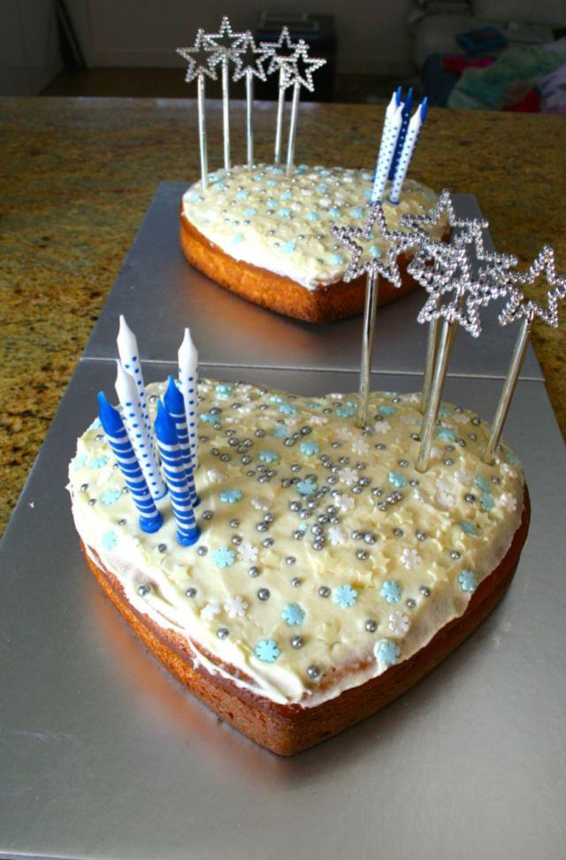 LuzPatterns birthday cake olive oil frozen themed