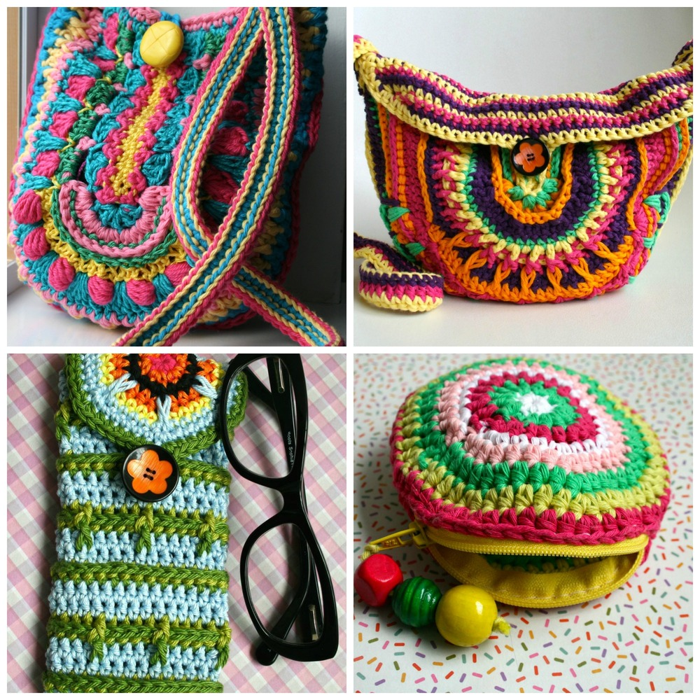 Crochet Boho Bag Pattern : boho bag patterns Archives - Luz Patterns